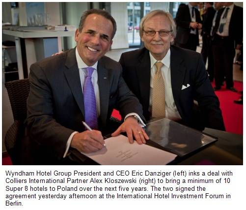 Wyndham Signs Agreement for 10 Super 8 Properties in Poland