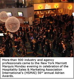 Hospitality Industry Honorees Recognized as part of 56th Annual Adrian Awards at Gala