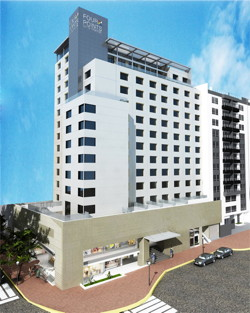 Four Points by Sheraton Miraflores in Lima Peru - Exterior - Rendering