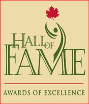 Hotel Association of Canada Hall of Fame Awards of Excellence Logo
