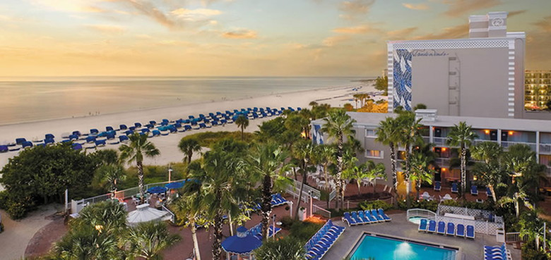 The TradeWinds Island Resorts on St. Pete Beach, Florida