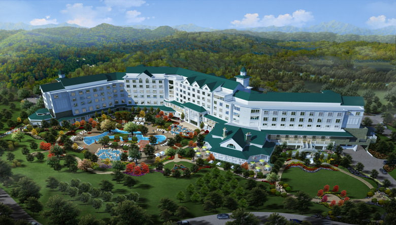 Rendering - Dollywood's DreamMore Resort