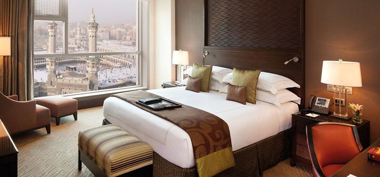 Makkah Clock Royal Tower, A Fairmont Hotel - Signature Guestroom with Kaaba view - Source Fairmont Hotels