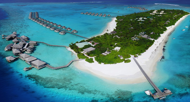 Aerial Photo Six Senses Laamu - Source  Six Senses/Jones Lang Lasalle