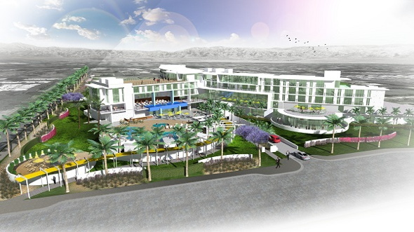 Rendering Dolce Hotels and Resorts Hotel Palm Springs