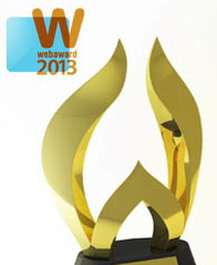 2013 WebAwards Trophy and Logo