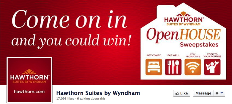 Screenshot - Hawthorn Suites by Wyndham Facebook Page