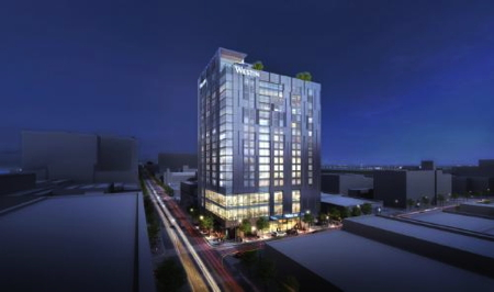 Rendering of the Westin Austin Downtown
