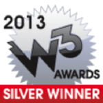 Logo - 2013 W3 Silver Awards