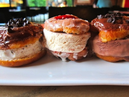 L.A. Creamery's Donut Ice Cream Sammies