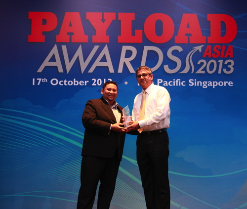Picture from the Payload Asia Awards ceremony