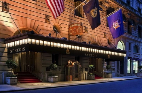 St. Regis Hotel in New York