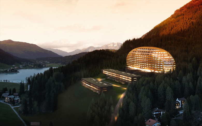 Rendering - InterContinental Resort in Davos, Switzerland