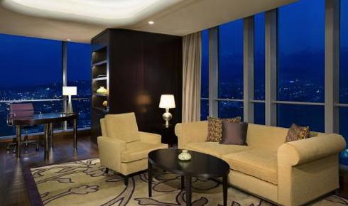 Ritz-Carlton Hotel in Almaty Kazakhstan