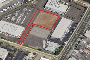 Aerial Photo Hotel Development Site Oakland Airport