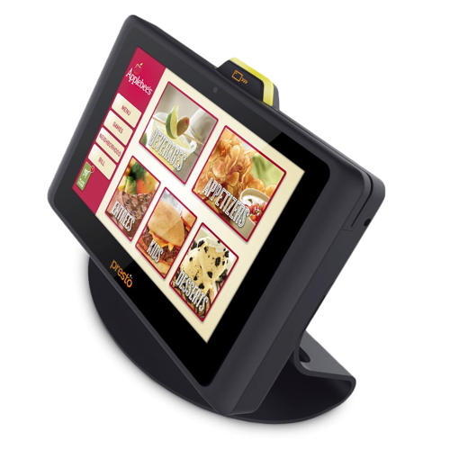 Applebee's is introducing 100,000 E la Carte Presto devices at its 1,860 U.S. restaurants - every table of every domestic restaurant - by the end of 2014.
