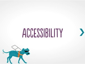Image promoting Scandic's interactive web training on disabilities
