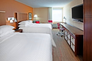 Guest room at Fairfield Inn & Suites Chattanooga