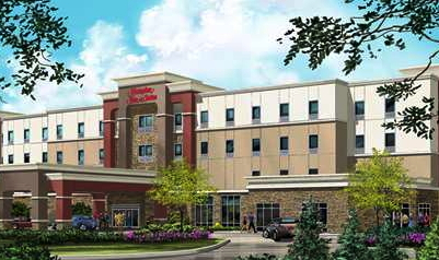 New Hampton Inn & Suites Hotel in Bismarck North Dakota