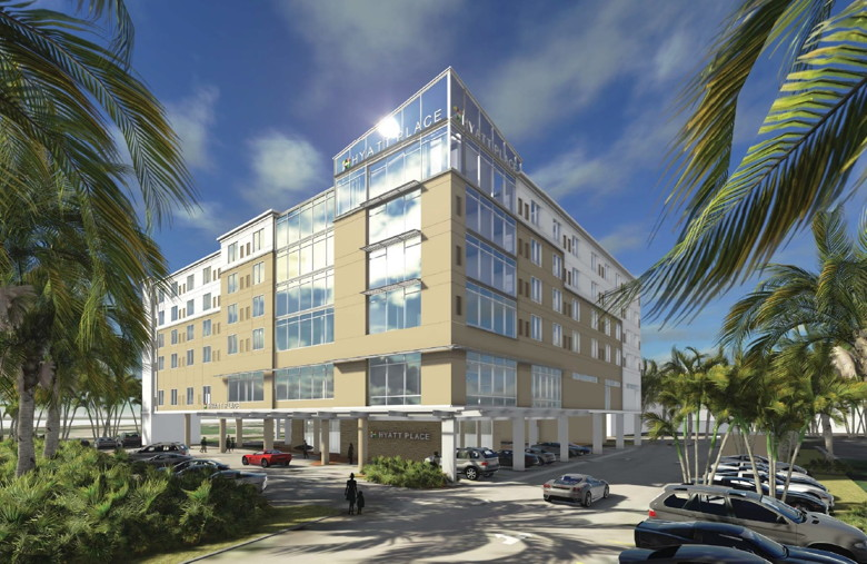 Hyatt Place at MIA - Rendering