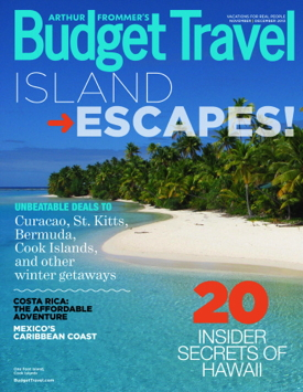 Arthur Frommer's Budget Travel (tablet edition), November/December 2013
