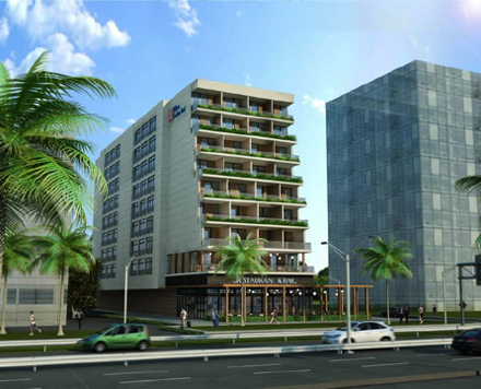 Pictured is a rendering of the Hilton Garden Inn Izmir Bayrakli. Credit: Hilton Worldwide