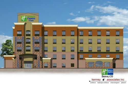 Rendering - Holiday Inn Express Hotel & Suites Denver East - Peoria Street