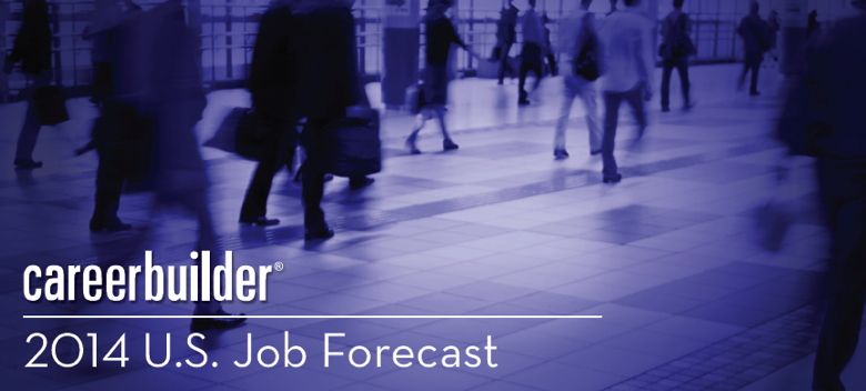 Image from the Report Cover - Careerbuilder 2014 U.S. Job Forecast