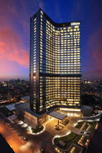 Hilton Istanbul Bomonti Hotel & Conference Center Exterior