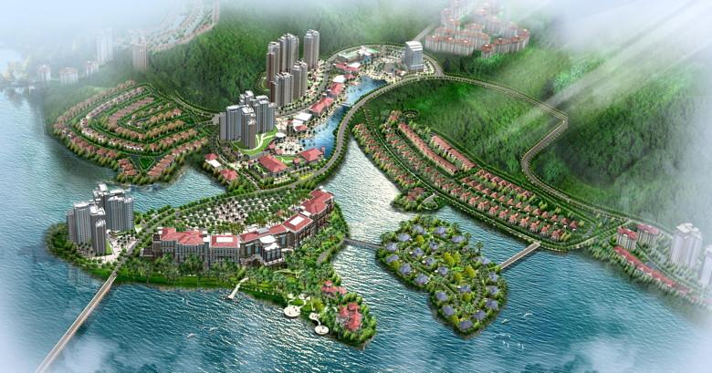 Rendering - Sheraton Bailuhu Resort, Huizhou