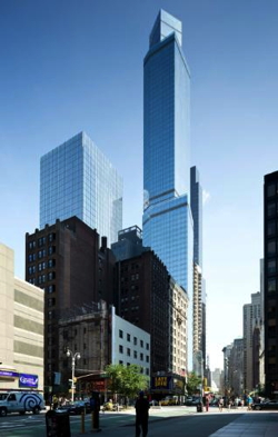 Combined 378-room Courtyard hotel and 261-suite Residence Inn hotel in Midtown Manhattan.