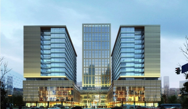 Rendering Two Mew Meli� Hotels in Zhengzhou, Central China