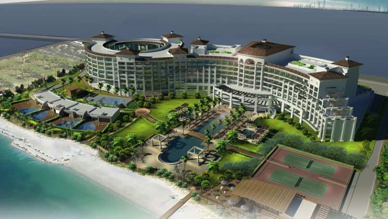Waldorf Astoria Dubai Palm Jumeirah Rendering