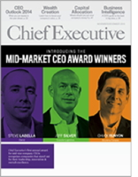 Chief Executive Magazine Cover
