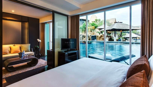 Suite at Chedi Sakala Hotel in Bali