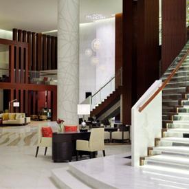 Dubai Marriott Al Jaddaf Hotel Lobby