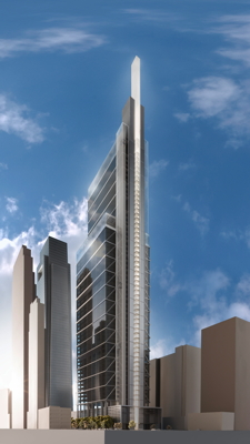 Rendering - Comcast Innovation and Technology Center