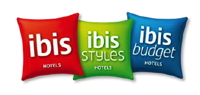 ibis logos on pillows