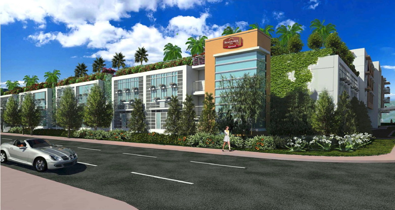Rendering - Residence Inn Miami South Beach