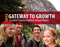 Cover page - 2013 Canadian Tourism Annual report