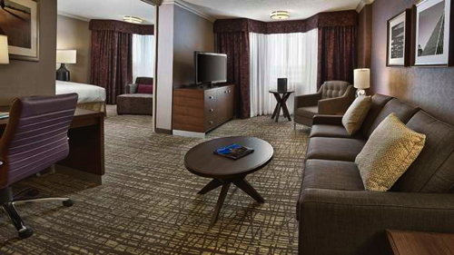 King Suite at the DoubleTree by Hilton West Edmonton