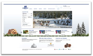 Screenshot - Maritim Hotel Group website