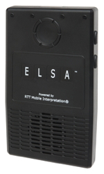 ELSA™ (Enabling Language Service Anywhere) device