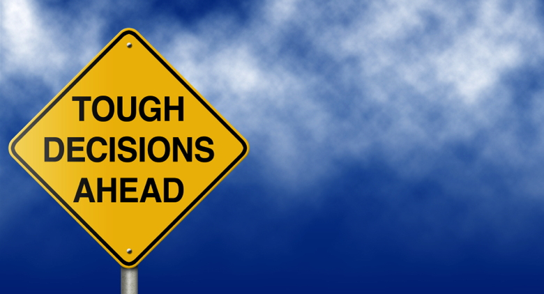 Metaphoric message sign suitable for a variety of business and personal concepts.