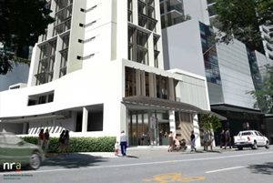 Rendering - Four Points by Sheraton Brisbane