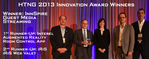 Pictured - HTNG 2013 Innovation Award Winners