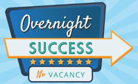 Graphic - Overnight Success - No Vacancy