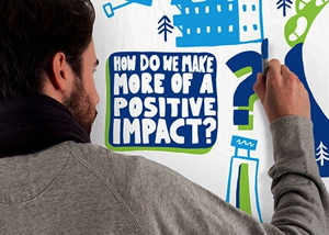 Graphic - Generation Y - How do we make more of a positive impact?