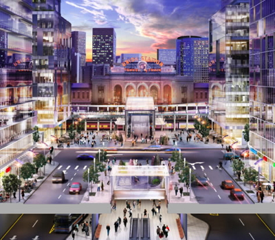 Rendering of Continuum Partners Denver's Union Station Project