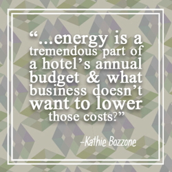 Graphic - Quote from article Energy 101 for Hotels
